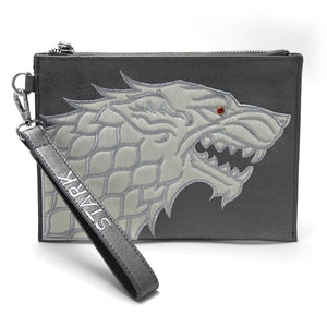Danielle Nicole House Stark Wristlet Pouch from Game of Thrones