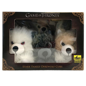 Direwolf Prone Cub Box Set SDCC Exclusive from Game of Thrones