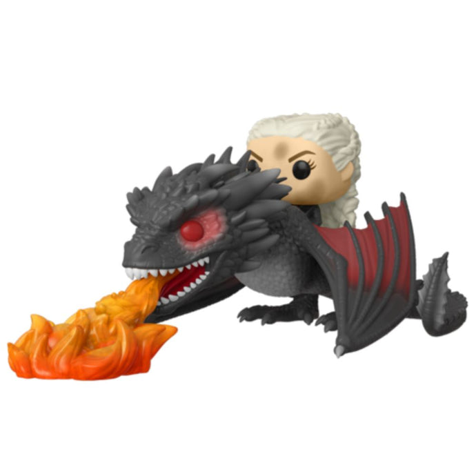 Daenerys on Fiery Drogon Funko Pop! From Game of Thrones