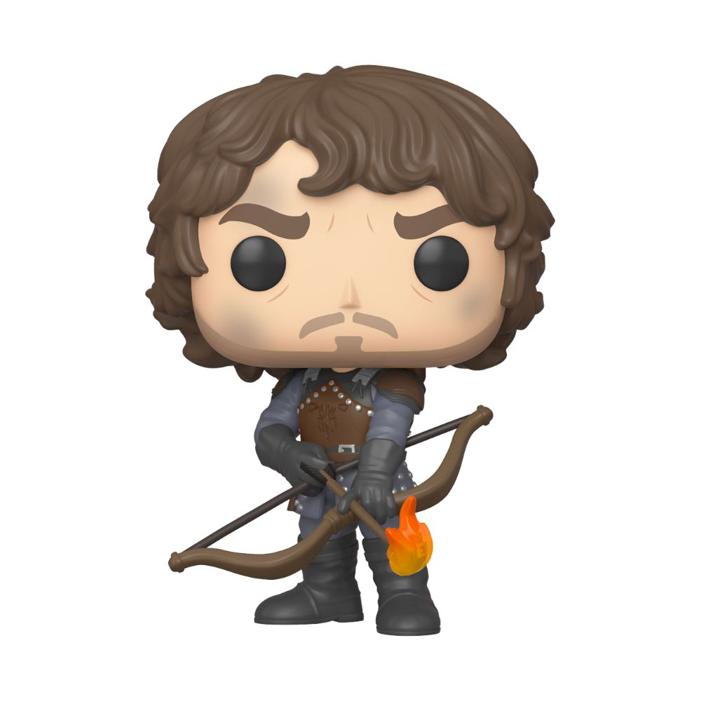Theon Greyjoy with Flaming Arrows Funko Pop! Figure from Game of Thrones