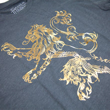 House Lannister Gold Foil T-Shirt from Game of Thrones