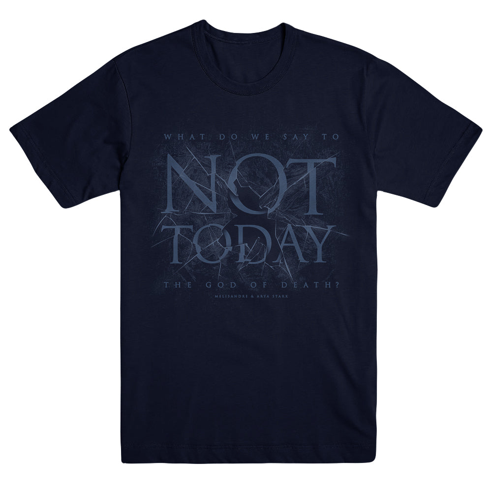 Not Today Shattered Ice Unisex T-shirt from Game of Thrones