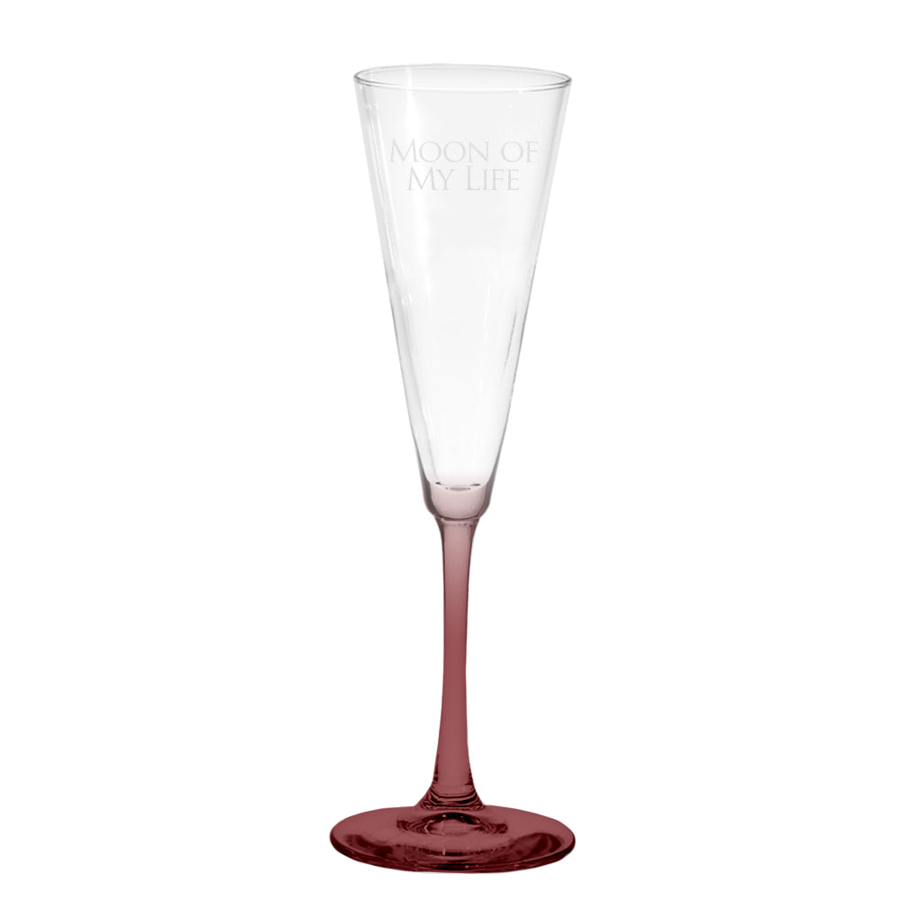 Moon of My Life Champagne Flute from Game of Thrones