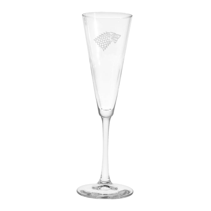 Stark Sigil Champagne Flute from Game of Thrones