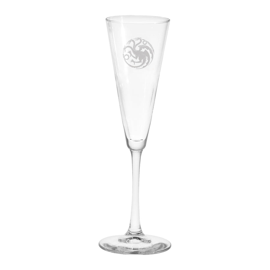 Targaryen Sigil Champagne Flute from Game of Thrones