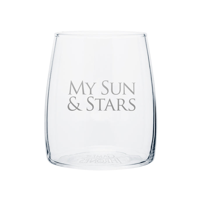 My Sun & Stars Tapered Glass from Game of Thrones
