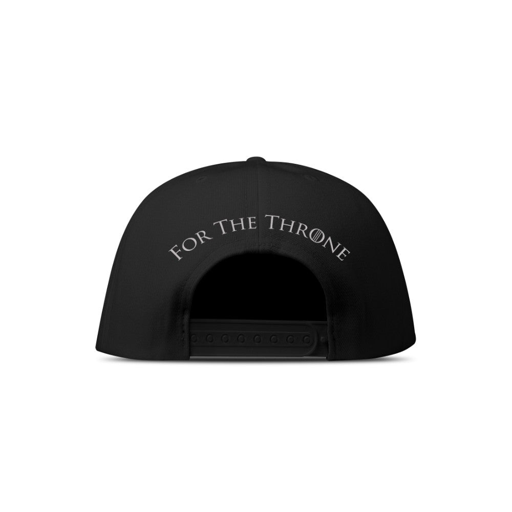 For the Throne Embroidered Black Hat from Game of Thrones
