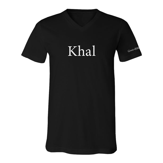 Khal Men's V-neck Tee from Game of Thrones