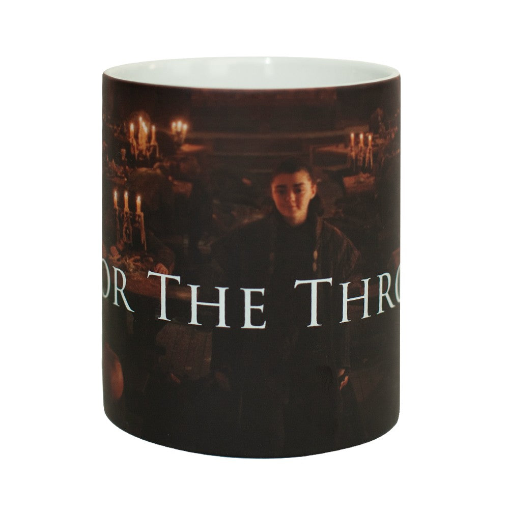 For the Throne Arya Stark Heat Transforming Mug from Game of Thrones
