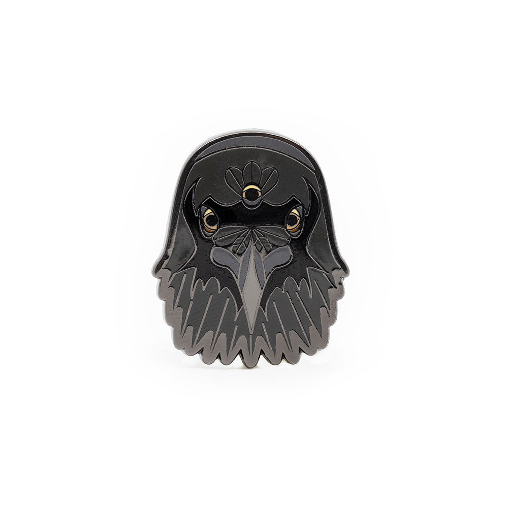 Three Eyed Raven Pin from Game of Thrones