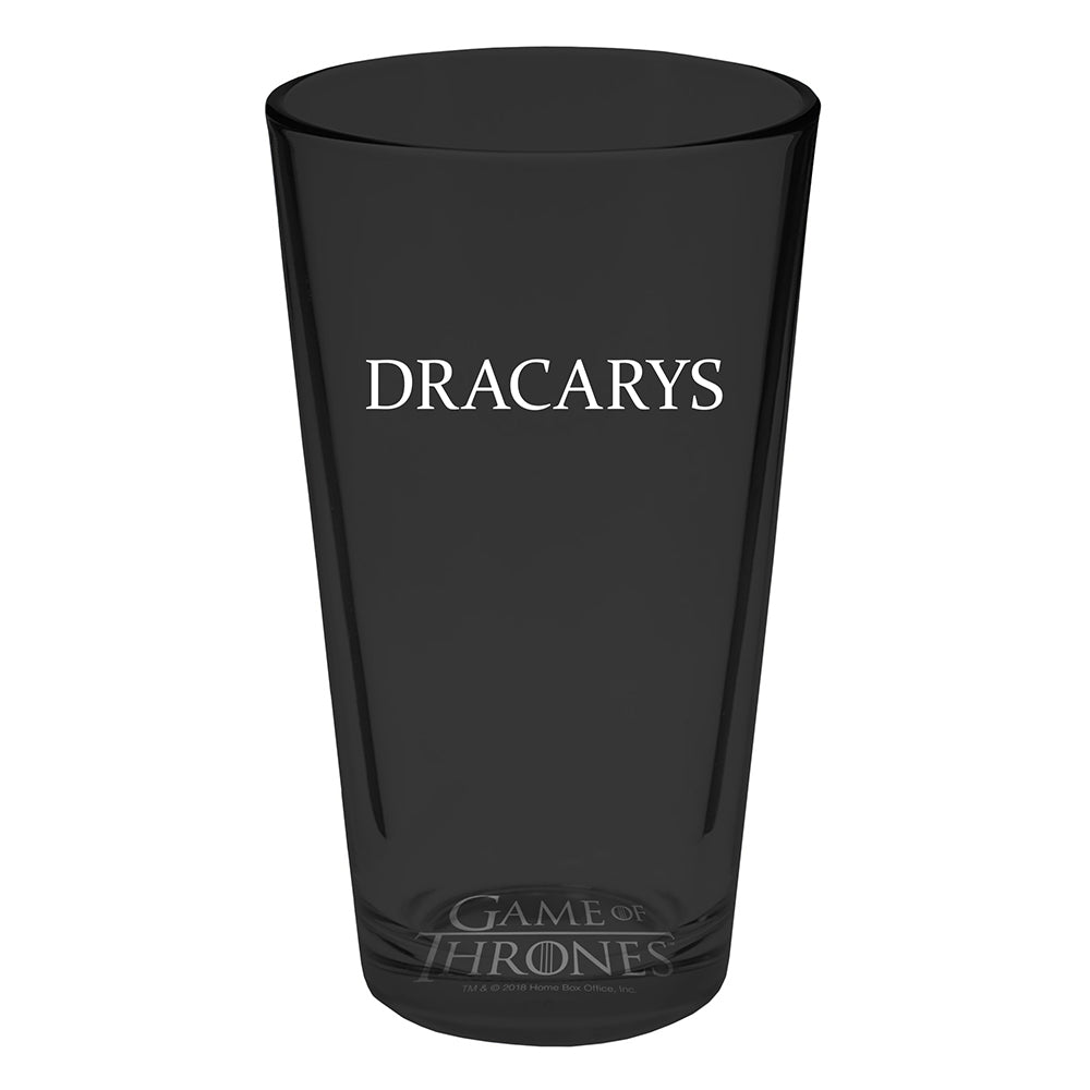 Mother of Dragons Pint Glass Set from Game of Thrones