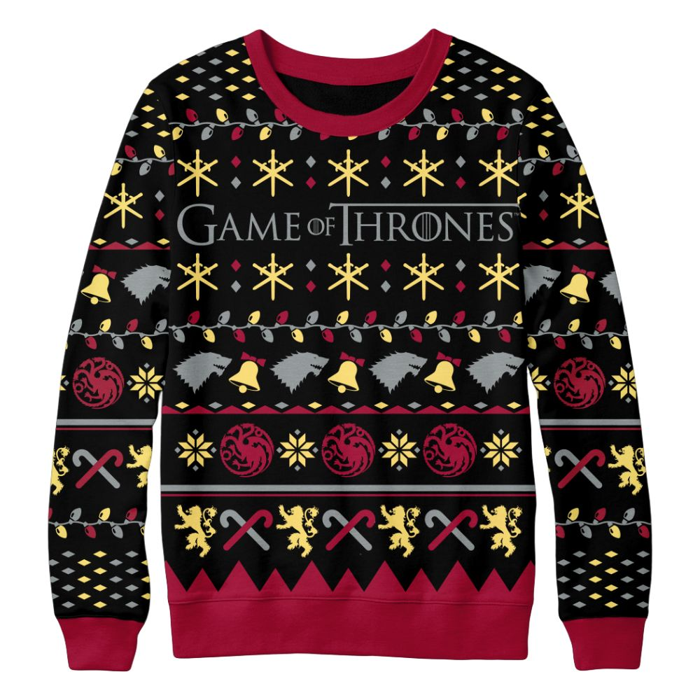 Sigil Logo Christmas Sweater from Game of Thrones