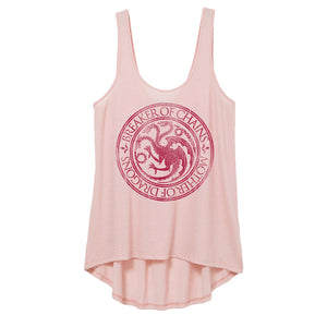 Breaker of Chains Mother of Dragons Pink Women's Tank from Game of Thrones