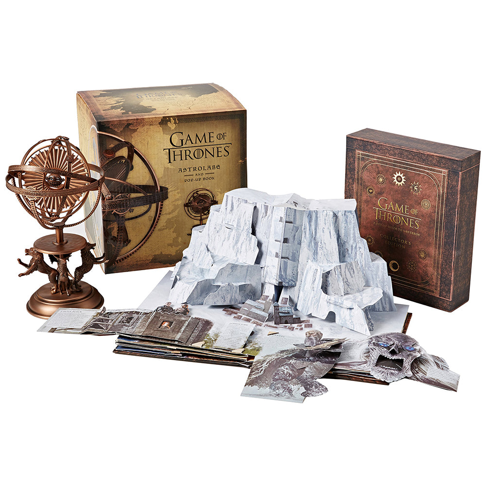 3D Pop Up Guide To Westeros With Limited Edition Astrolabe From Game Of Thrones