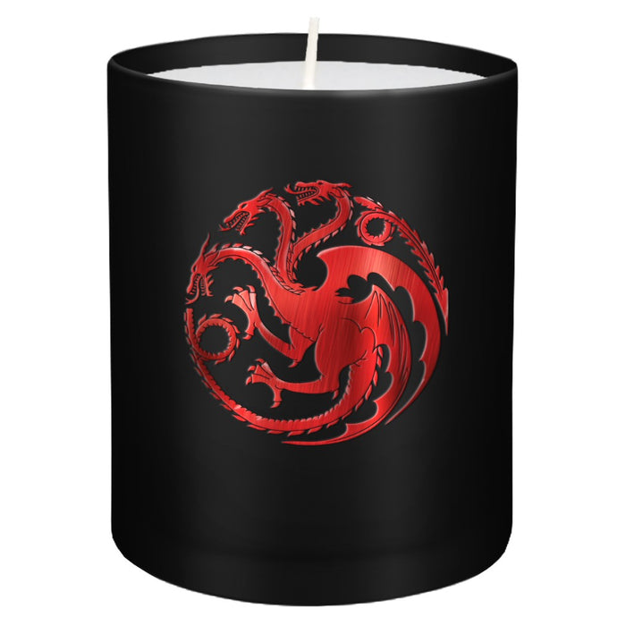 House Targaryen Glass Candle from Game of Thrones