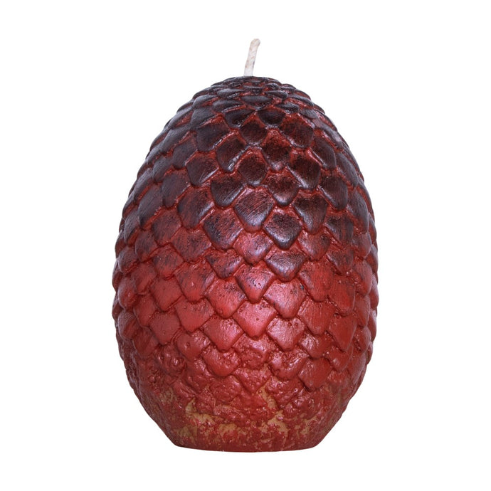 Sculpted Red Dragon Egg Candle from Game of Thrones