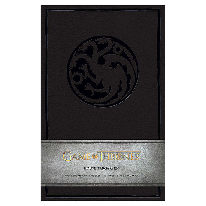 Targaryen Ruled Journal from Game of Thrones