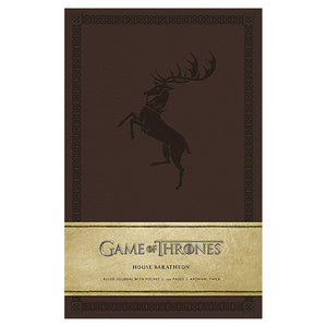 Baratheon Ruled Journal from Game of Thrones