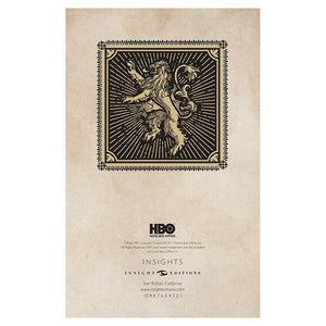 Additional image of Lannister Ruled Journal from Game of Thrones