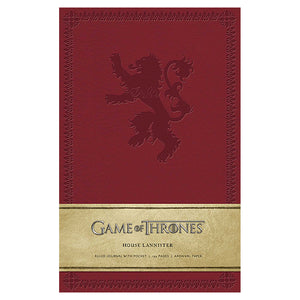 Lannister Ruled Journal from Game of Thrones