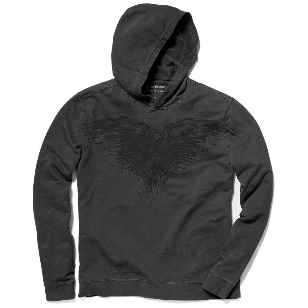 Game of Thrones x John Varvatos Three-Eyed Raven Hoodie