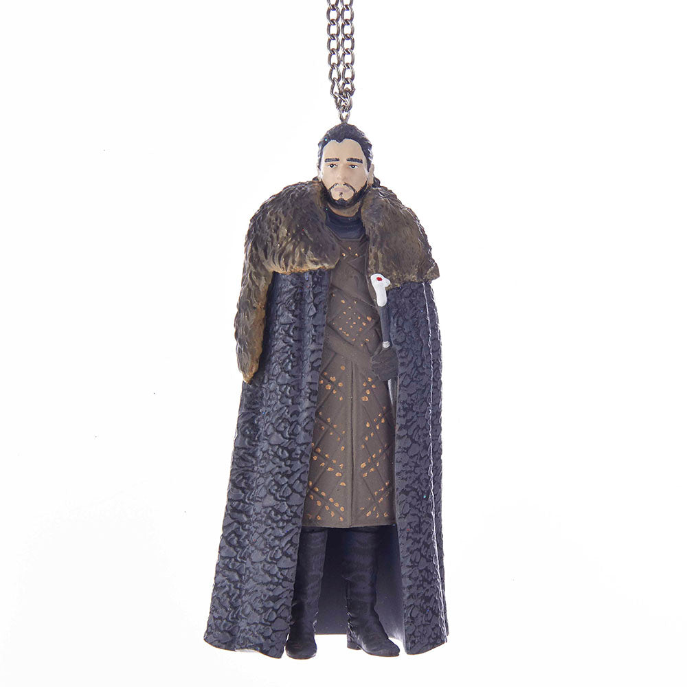Jon Snow Figure Ornament from Game of Thrones