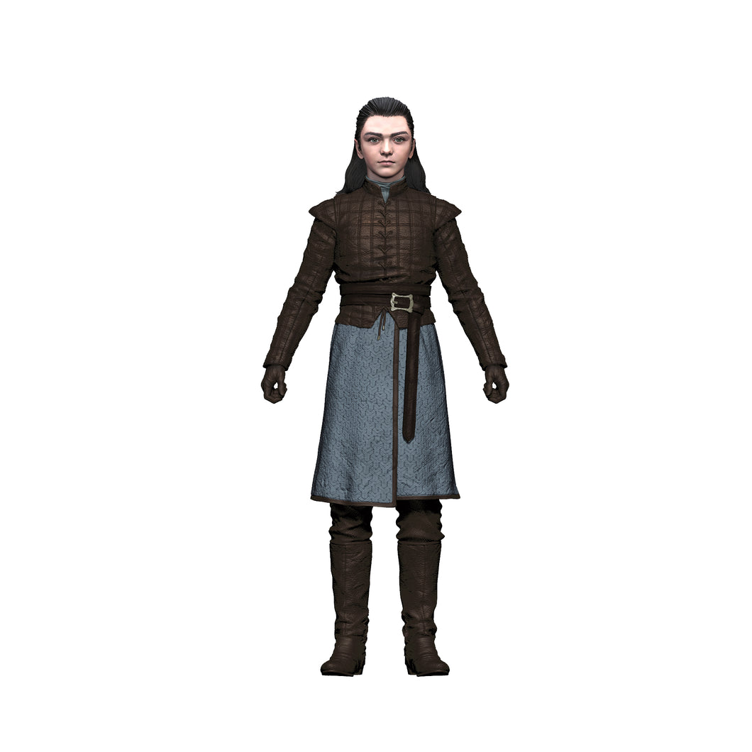Arya Stark Action Figure from Game of Thrones
