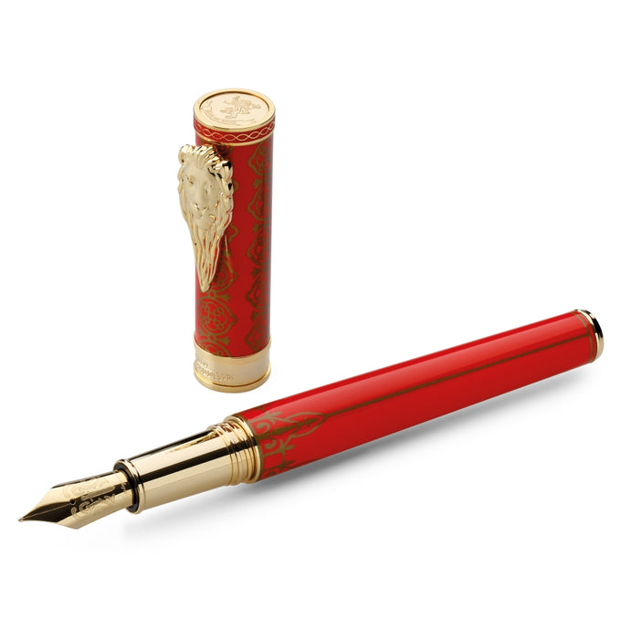 Image of House Lannister Hand-Crafted Montegrappa Pen from Game of Thrones