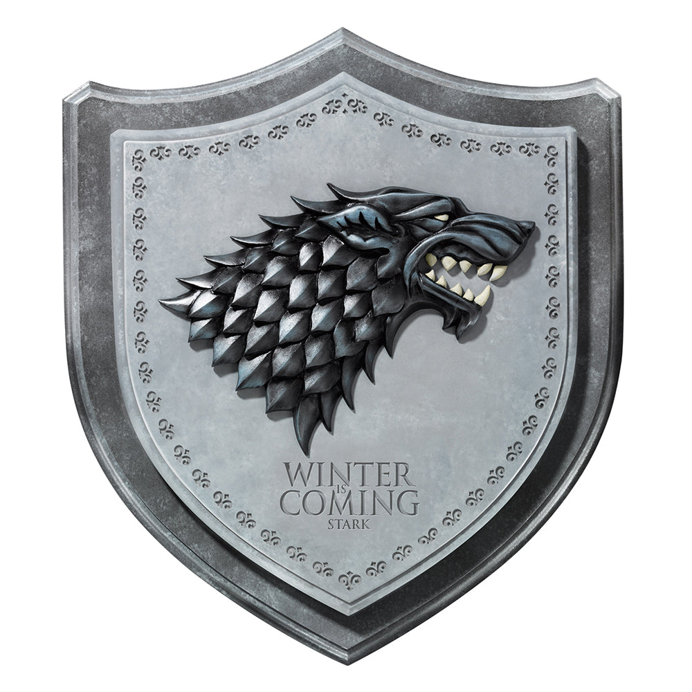Stark House Sigil Wall Plaque from Game of Thrones