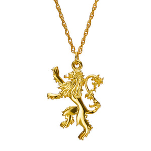 Gold-Plated Lannister Pendant by Noble Collection from Game of Thrones