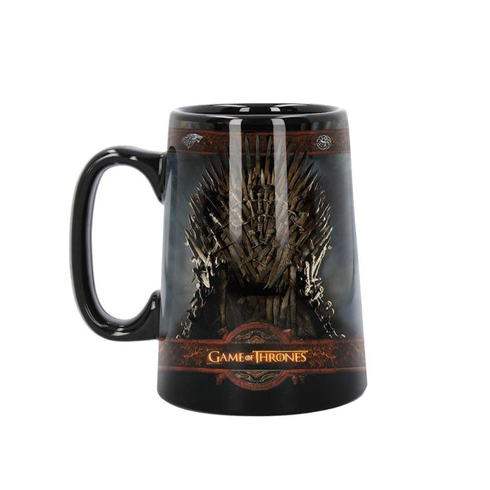 Ceramic Iron Throne Tankard from Game of Thrones