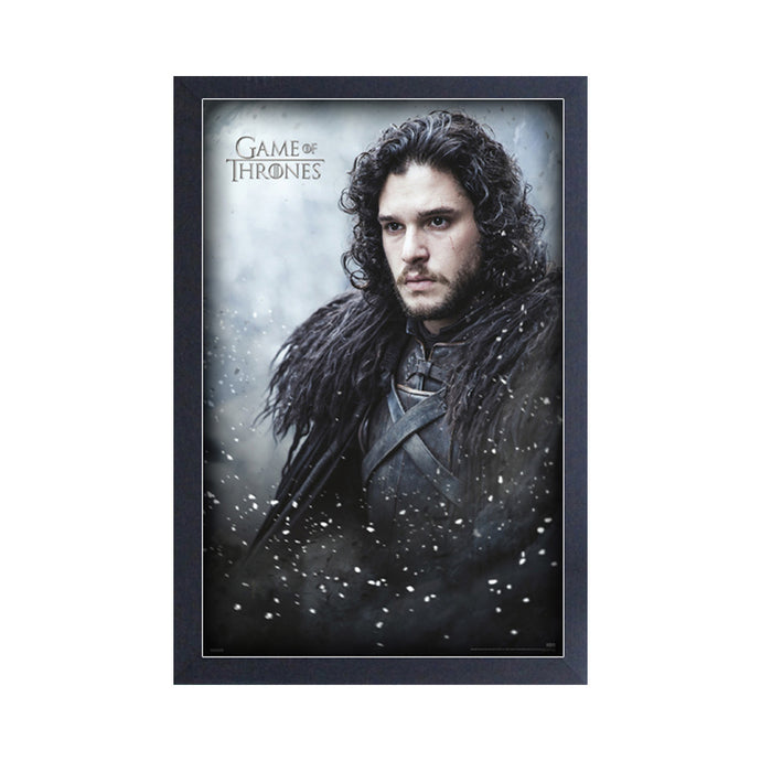 Jon Snow Frame Print from Game of Thrones