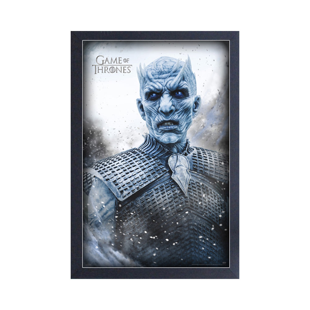 Night King Frame Print from Game of Thrones