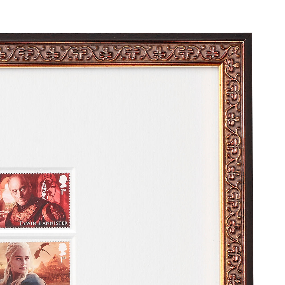 Framed Game of Thrones Limited Edition Stamp Collection from Royal ...