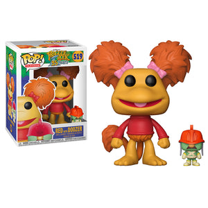 Red with Doozer Funko Pop! From Fraggle Rock