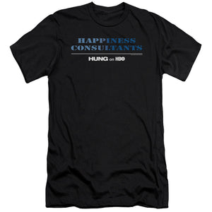Happiness Consultants Logo Black T-shirt from Hung
