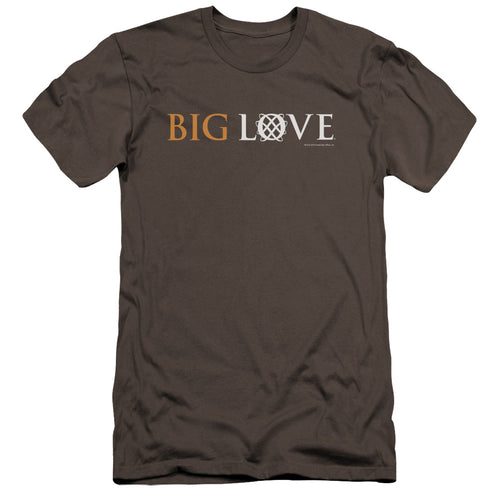 Big Love Logo Charcoal T-shirt