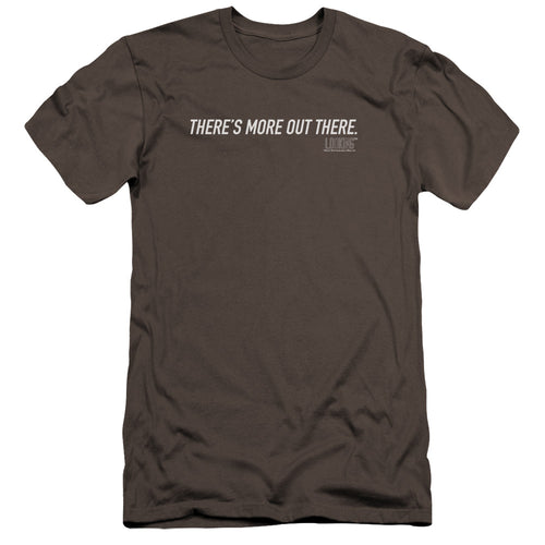 There is More Out There Charcoal T-shirt from Looking