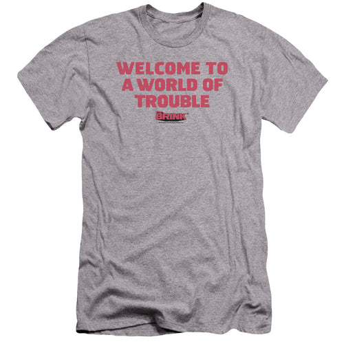 Welcome Grey T-shirt from The Brink