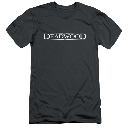 Deadwood Logo Charcoal T-shirt