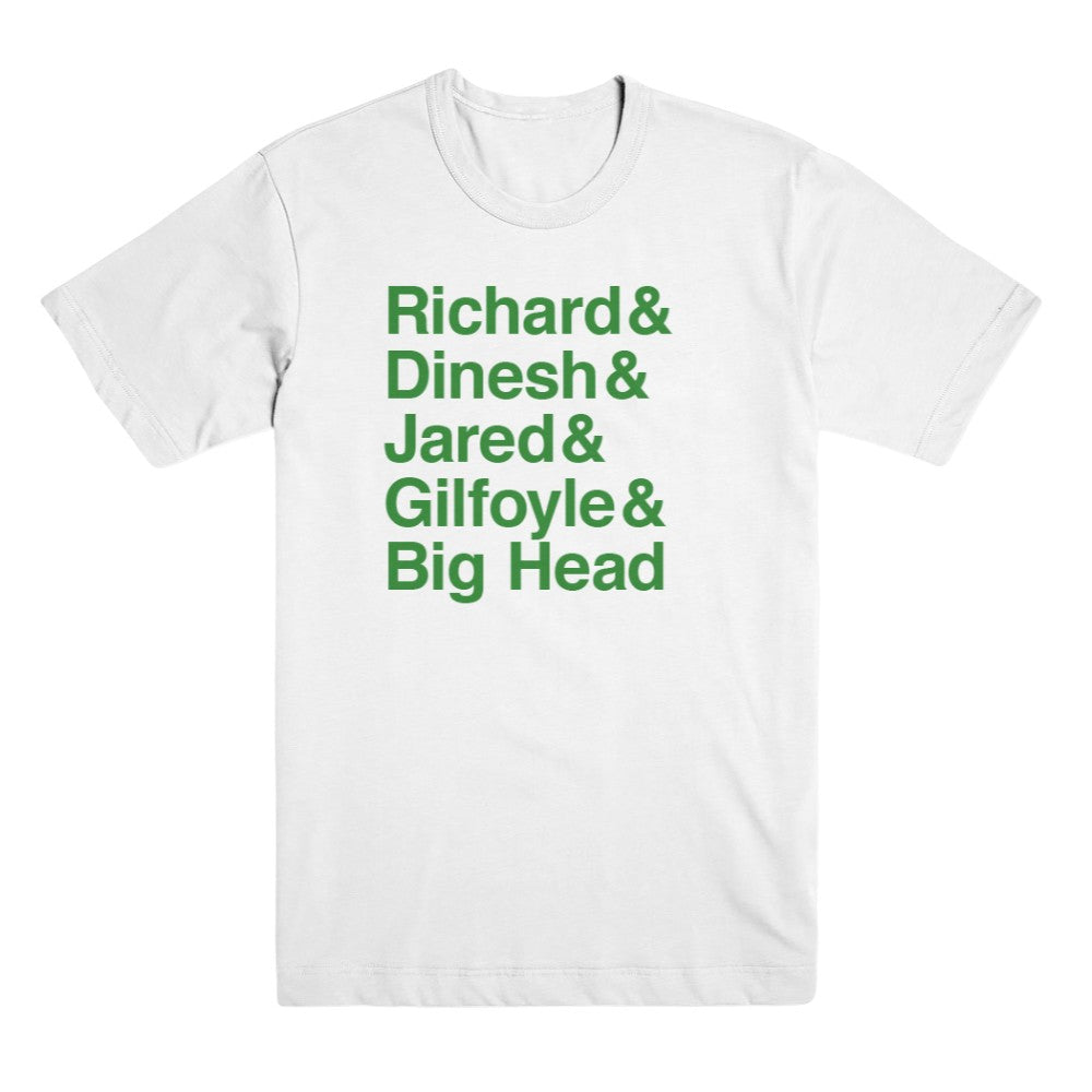 Silicon Valley Name T-Shirt