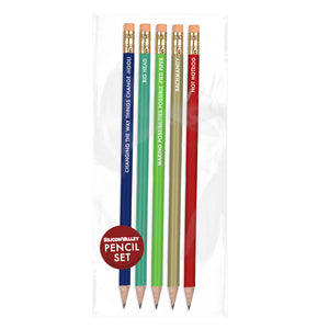 Pencil Set from Silicon Valley