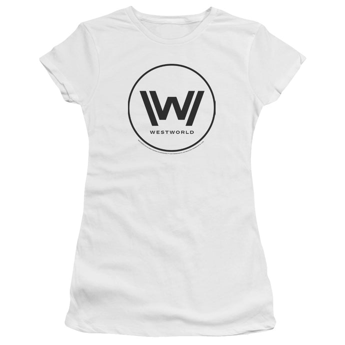Westworld Logo Women's White T-shirt