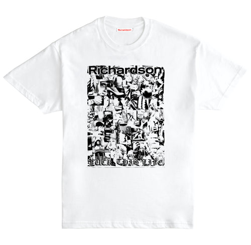 Richardson x Weirdo Dave 'FUCK THIS LIFE' T-Shirt