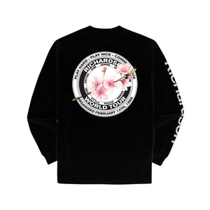 Cherry Blossom Teamster Longsleeve
