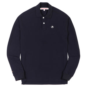 Engineered Glyph Polo Longsleeve