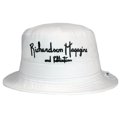 Richardson Magazine and Publications Embroidered Bucket Hat