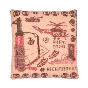 War Rug Floor Cushion