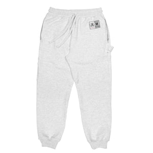 Ash Grey Engineered Sweatpants