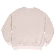Velour Drop Shoulder Crewneck